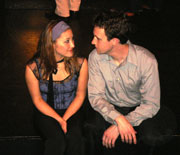 Kendra Arimoto and John Russell in LOVE'S LABORS LOST.