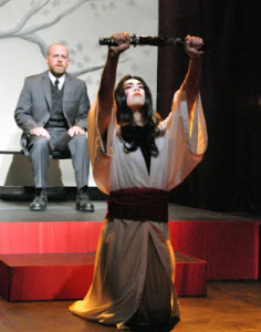 Rik Lopes and Sean Fenton in M. BUTTERFLY.