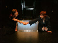 Jana Sobel and Cassie Powell in OASIS.