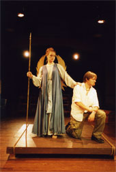 Katherine Mann and Rick Hill in THE ODYSSEY.