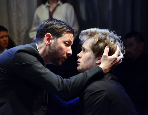 Ryan Hayes and Dashiell Hillman in THE MERCHANT OF VENICE.