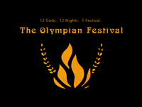 The original Olympians Logo, by Cody Rishell.