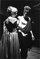 Christine Prochnau and Andy McKinn in SALOME.
