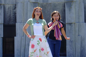 Gina Seghi and Cassie Powell in THE BOOK OF GENESIS.