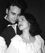 Werner James and Amanda Karam in FAUST PART ONE.