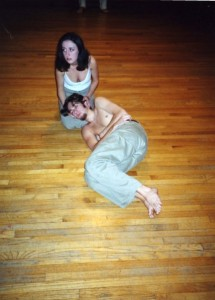 Tracey Pickles and Patrick Stockstill in the Reed College production.