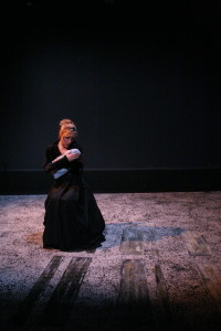 Sylvia Burboeck in the Women's Will production.